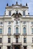 дворец prague епархии архиепископа Стоковые Изображения RF