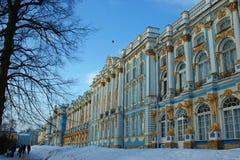 дворец pushkin s caterina стоковые изображения