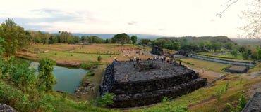 Дворец Ratu Boko Стоковые Изображения RF