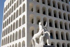 дворец rome Италии культуры итальянский Стоковая Фотография RF