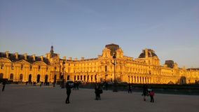 Дворец Royale de Париж стоковая фотография rf