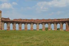Дворец RuzhanskÑ- дворца Ruzhansky, архитектурноакустический памятник столетия XVII Стоковое Изображение RF