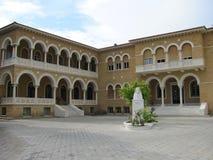 Дворец ` s архиепископа в Кипре, Никосии Стоковое Изображение RF