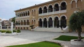 Дворец ` s архиепископа, Кипр, Никосия Стоковые Изображения RF