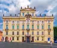Дворец ` s архиепископа, Прага, чехия Стоковое Изображение RF