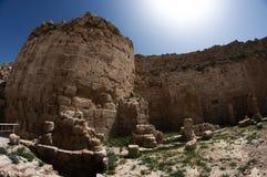 дворец s короля herod стоковая фотография rf
