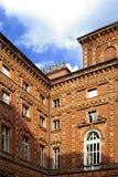 дворец s carignano стоковая фотография rf