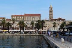 Дворец ` s Diocletian, разделение, Хорватия Стоковая Фотография