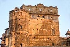 дворец s orcha Индии зодчества Стоковая Фотография