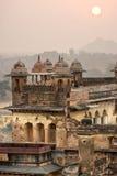 дворец s orcha Индии зодчества Стоковое Изображение RF