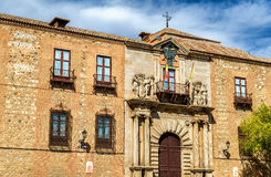 Дворец ` s Palacio Arzobispal или архиепископа в Toledo, Испании Стоковая Фотография