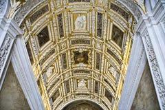 дворец s venice doge потолка Стоковые Фото