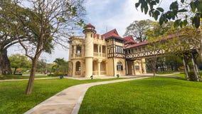 Дворец Sanam Chandra, общественный дворец в Таиланде Стоковые Фотографии RF