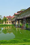 Дворец SanamJan, Nakornpathom, Таиланд. Стоковая Фотография RF