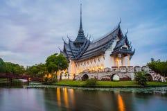 Дворец Sanphet Prasat Стоковая Фотография RF