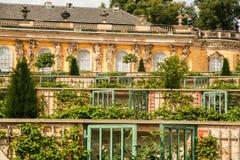 Дворец Sanssouci стоковые изображения