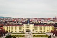 Дворец Schönbrunn в вене, Австрии стоковая фотография rf