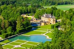 Дворец Schloss Hellbrunn, Зальцбург Стоковые Изображения RF