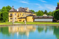 Дворец Schloss Hellbrunn, Зальцбург Стоковая Фотография RF