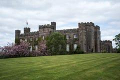 Дворец Scone Шотландии Великобритании леса парка ландшафта Стоковое Изображение RF