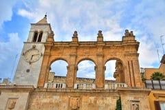 Дворец Sedile _ Апулия Италия стоковое изображение rf