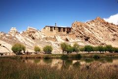 Дворец Shey, Shey, Leh-Ladakh, Джамму и Кашмир, Индия Стоковая Фотография