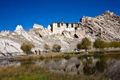 Дворец Shey, Shey, Leh-Ladakh, Джамму и Кашмир, Индия Стоковое Изображение RF