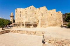 Дворец Shirvanshahs в Баку стоковые фотографии rf