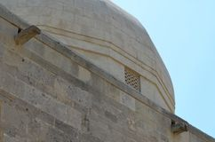 Дворец Shirvanshahs в старом городке Баку, столицы Азербайджана стоковые изображения