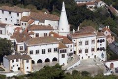 Дворец Sintra - около Лиссабона - Португалии стоковое фото rf