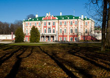 дворец tallinn kadriorg эстонии Стоковые Фотографии RF