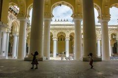 Дворец Thirumalai Naicker, Madurai Стоковые Изображения RF