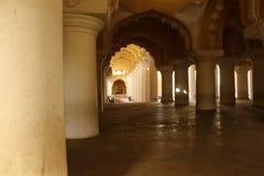 Дворец Thirumalai Nayakar, Madurai, Tamil Nadu, Индия стоковые фото
