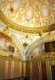 Дворец Topkapi богато украшенный стоковые изображения rf