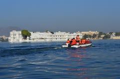 Дворец Udaipur озера Стоковая Фотография