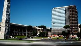 Дворец Unicredit в recladding стоковое изображение rf