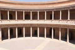 дворец v charles granada Стоковые Изображения