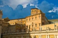 дворец vatican стоковое изображение