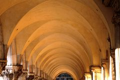 дворец venice Италии doge арк Стоковые Фото