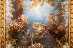 дворец versailles потолка Стоковое Изображение RF