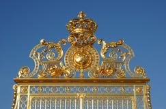дворец versailles строба золотистый Стоковые Фото