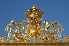 дворец versailles строба золотистый Стоковая Фотография