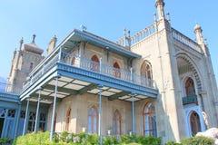 Дворец Vorontsov, Крым Стоковое Фото