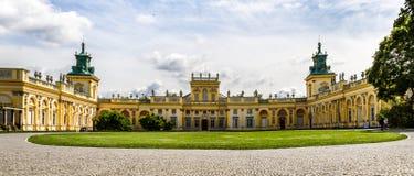Дворец Wilanow, Польша Стоковое Фото