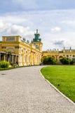 Дворец Wilanow, Польша Стоковые Фото
