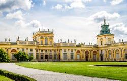 Дворец Wilanow, Польша Стоковая Фотография RF