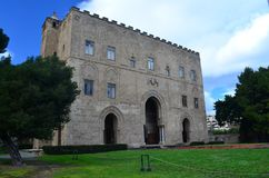 Дворец Ziza Палермо Сицилия Стоковое фото RF