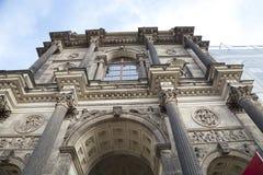 Дворец Zwinger (Der Dresdner Zwinger) в Дрездене, Германии Стоковые Фотографии RF