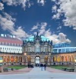 Дворец Zwinger (Der Dresdner Zwinger) в Дрездене, Германии Стоковое фото RF