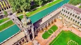 Дворец Zwinger (Der Dresdner Zwinger) Стоковая Фотография